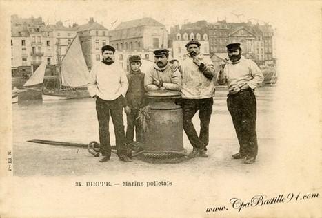 Carte postale Ancienne de Dieppe – des Marins Polletais | Cartes Postales Anciennes | GenealoNet | Scoop.it