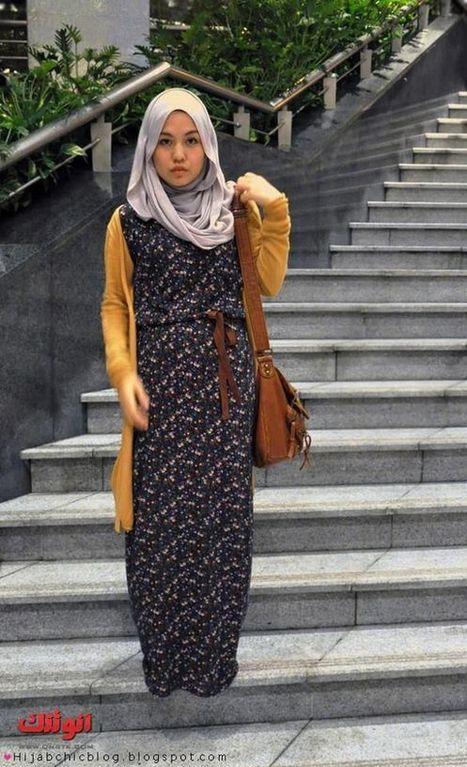 ملابس للمحجبات الشيك , ملابس صيف للمحجبات 2013 , ازياء محجبات صيف 2013 | لفات طرح | Scoop.it