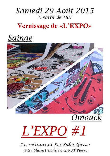 """L'Expo"" d'Omouck & Sainge | Street Art Reunion Island | Scoop.it"