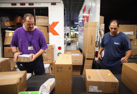 Profit Down 31%, FedEx Cuts Outlook - New York Times | AIR CHARTER CARGO AND FREIGHT | Scoop.it