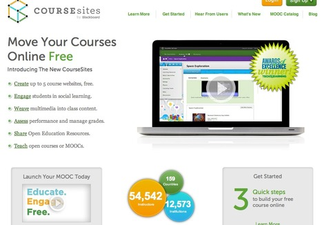 CourseSites - Create Your Own Online Course | Initial teacher training | Scoop.it