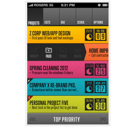 20 incredible app UI designs for the iPhone | App Store Marketing ASO | Scoop.it