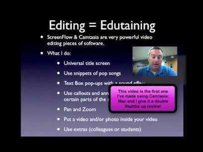 "How to create ""edutaining"" videos. 