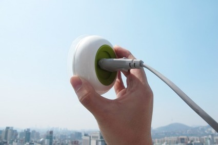 Mini solar panel is actually a socket for the... - eco3tree | Eco Friendly | Scoop.it