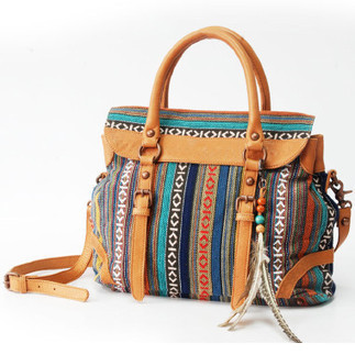 Fantastic patterned hemp cross body shoulder bags for womens | personalized canvas messenger bags and backpack | Scoop.it