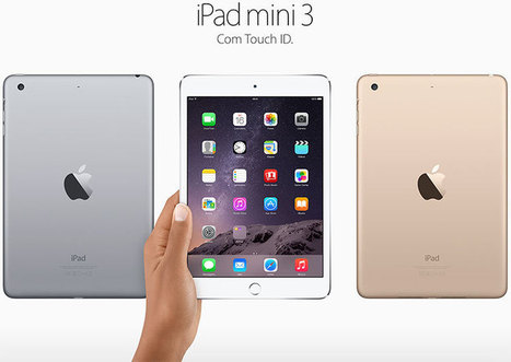 Apple anuncia novos iPads Air e mini, com Touch ID (atualizado) | Apple iOS News | Scoop.it