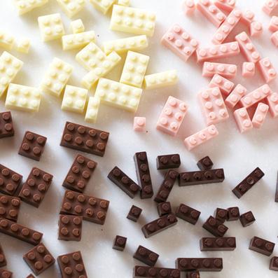 Akihiro Mizuuchi makes Lego bricks from chocolate | Just Chocolate!!! | Scoop.it