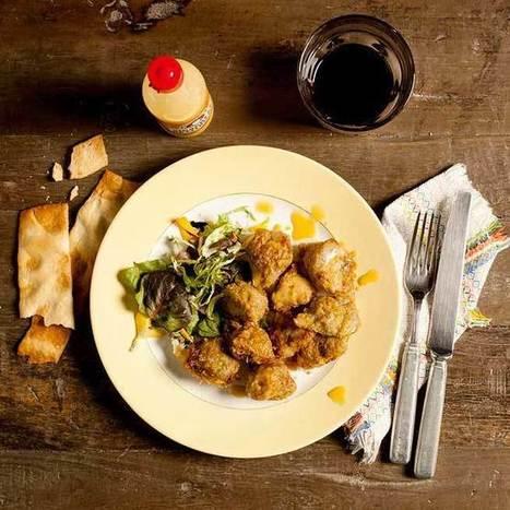 Alcachofas en tempura con vinagreta de cítricos | Comiditas | Scoop.it
