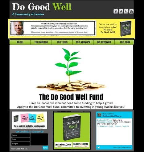 Do Good Well | The Globe is Our Classroom | Scoop.it