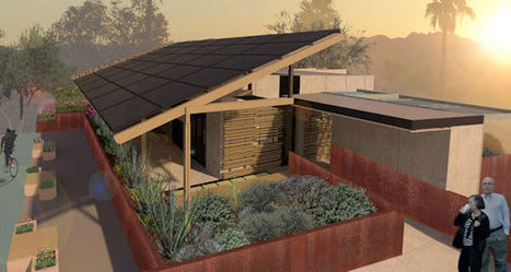SHADE: A Solar Home ADAPTS for Sustainable Desert Living | The Architecture of the City | Scoop.it