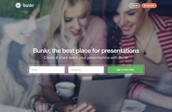Bunkr is the best place for presentations | Media Education | Scoop.it