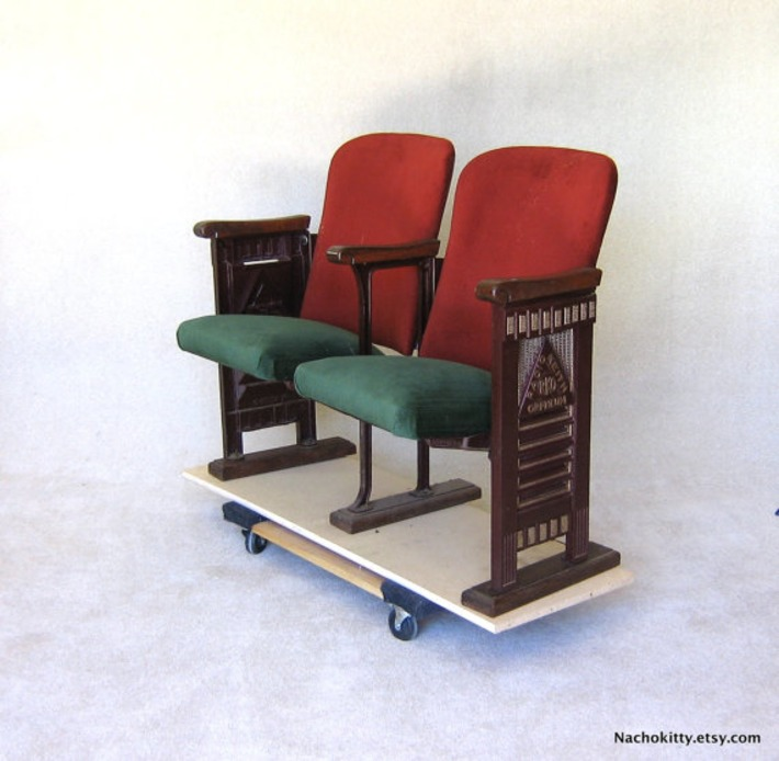 1920s Movie Theater Chairs | Antiques & Vintage Collectibles | Scoop.it