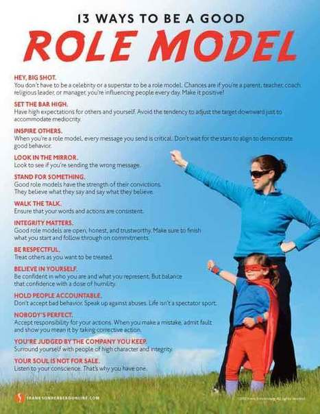 13 ways to be a good role model relationship capital scoop it
