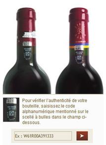 Lutte anti-contrefaçon : le château Lafite Rothschild s'associe à Prooftag pour assurer l'authenticité de ses bouteilles | Tag 2D & Vins | Scoop.it