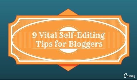 9 conseils d'auto-edition pour les blogueurs (en anglais) | Web design and presentation | Scoop.it