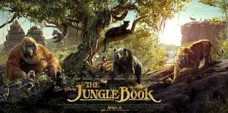 Jungle Book Re-Imagined and Brought to Life - Blazing Minds | Film Reviews with Blazing Minds | Scoop.it