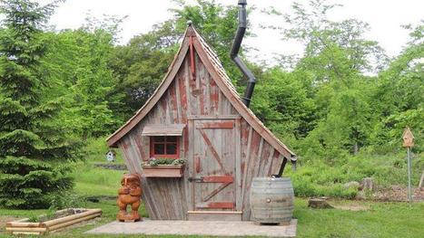 Des chalets de contes de fées fabriqués en bois recyclé | The Blog's Revue by OlivierSC | Scoop.it