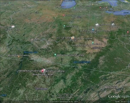 Exploring March Madness in Google Earth - Google Earth Blog (blog) | Google Earth Resources | Scoop.it