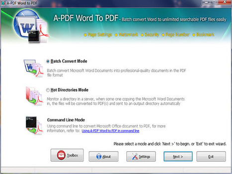 DOCX to PDF Converter - Create PDF from DOCX file [A-PDF.com] | DOCX to PDF Converter - Create PDF from DOCX File | Scoop.it