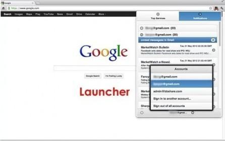Notifications et accès multicomptes aux services de Google, Google Launcher | Ballajack | Google APPS & Outils | Scoop.it