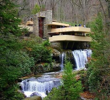 Twitter / TheHousePorn: Designed by American architect ... | Waterfalls | Scoop.it