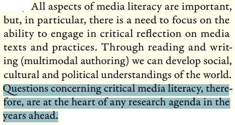 """Critical media literacy: """"at the heart of any research agenda in the years ahead""""   Research Capacity-Building in Africa   Scoop.it"""