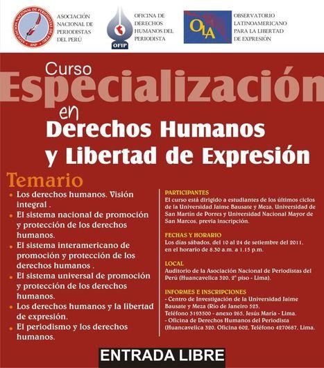 ANP organiza curso: Especialización en Derechos Humanos y ... | Libertad y Derechos Humanos | Scoop.it