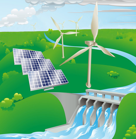 Wind, Water, and Solar Power for the World | A Scoop At Ecological Issues | Scoop.it