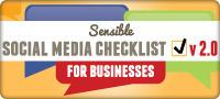 Sensible Social Media Checklist for Business v.2.0 [INFOGRAPHIC] | Digital Ethnography & Sensemaking | Scoop.it