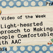 A Light-hearted Approach to Making People Comfortable with AAC | Communication and Autism | Scoop.it