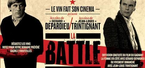 Les Mots du Vin : 25 novembre : Le vin fait son cinéma : battle Depardieu-Trintignant - | Wine and the City - www.wineandthecity.fr | Scoop.it