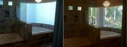 Smart Glass Windows - Residential Bathroom | Switchable Glass ... | Window Replacement Chicago | Scoop.it