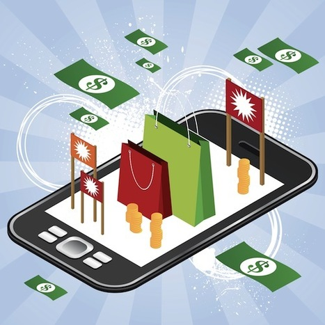 Mobile Apps Contribute Mere 4% Of e- Commerce Revenue For e-Stores! | Best delivery solutions for France ! | Scoop.it