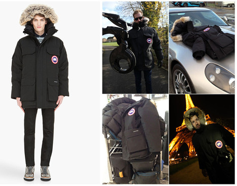 Canada Goose jackets online authentic - Black Canada Goose Expedition Parka is Good Inv...
