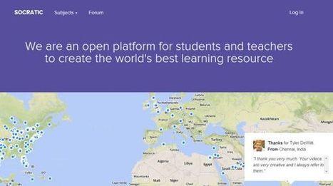 Socratic, plataforma de recopilación de vídeos educativos donde todos podemos colaborar | Innovación,Tecnología y Redes sociales | Scoop.it