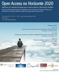 Open Access no Horizonte 2020: diretrizes da Comissão Europeia ... | Open Access | Scoop.it