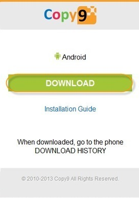 Copy9 - Mobile Spy Free: Installation COPY9 for Android OS | Phone spy app with  copy9 | Scoop.it