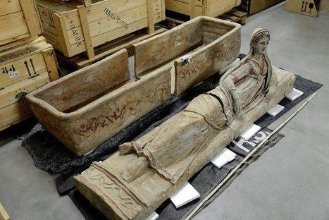 Aparece en Suiza un extraordinario tesoro expoliado de arte etrusco | ArqueoNet | Scoop.it