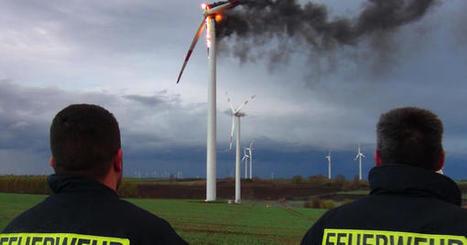 Unterschätzte Gefahr: Jeden Monat geraten zehn Windturbinen in Brand | Landschaftsschutz-Ebersberger-Land | Scoop.it