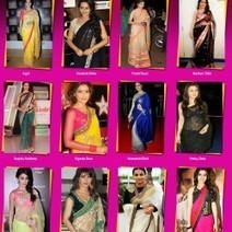 Bollywood Actress in Sarees | Visual.ly | SEO And Online Internet Marketing | Scoop.it