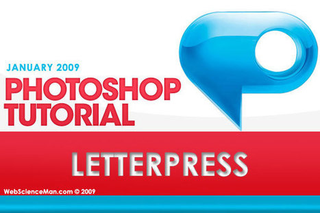 Easily achieve the trendy LetterPress effect with Photoshop | Web, IT, E-Marketing and Social Media | Scoop.it