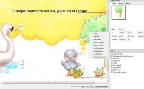 Probamos Moglue, el creador de libros electrónicos infantiles interactivos | Libros electrónicos | Scoop.it