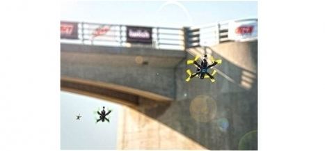 Droits TV : Eurosport va diffuser des courses de drones | News Express | Scoop.it