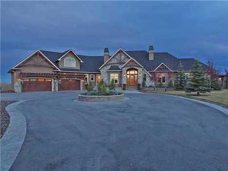 Bearspaw Estate Bungalow   251208 Welland Drive, Calgary, AB   Luxury Real Estate Canada   Scoop.it