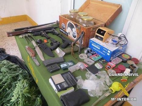 Twitter / SERtierrabarros: Dos jóvenes de Santa Marta, de 19 y 21 años, detenidos por Guardia Civil por cultivo de marihuana y tenencia de armas | Ciudad | Scoop.it