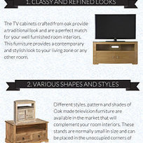 Manufacturers of oak TV stand | TV Stands & Cabinets | Scoop.it