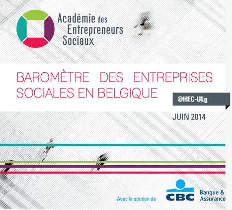 Le baromètre des entreprises sociales en belgique | MPA | Scoop.it