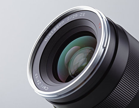 New Carl Zeiss Distagon T* f/2 25mm EF Lens | Everything Photographic | Scoop.it