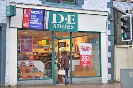 DE Shoes and Foot Factory are to close with the loss of 162 jobs | Business Scotland | Scoop.it