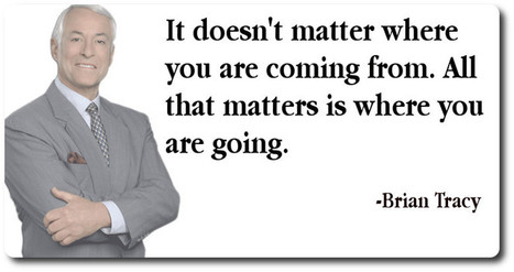 What Matters Is Where You're Going - ProCoin   Small Business Success   Scoop.it